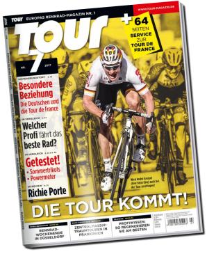 Tour Magazin 3 Ausgaben Tour de France Kurzabo für 11 Euro