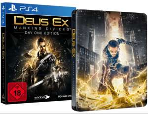 Deus Ex - Mankind Divided (Day One Edition inkl. Steelbook) [PlayStation 4] [Mediamarkt]