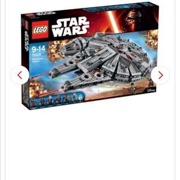 Interspar.at LEGO Star Wars  Millennium Falcon 75105 für 97,10 Euro