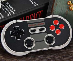 8Bitdo NES30 Pro (Switch Pro Controller Alternative) für 24,53€ (PVG 37€)