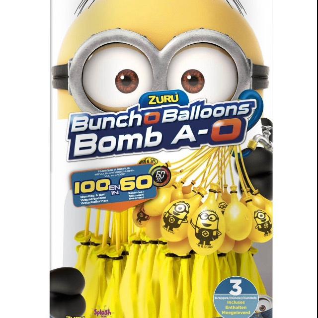 Bunch o Ballons 3x100 Wasserbomben mit Minions bei Globus Baumarkt Zweibrücken
