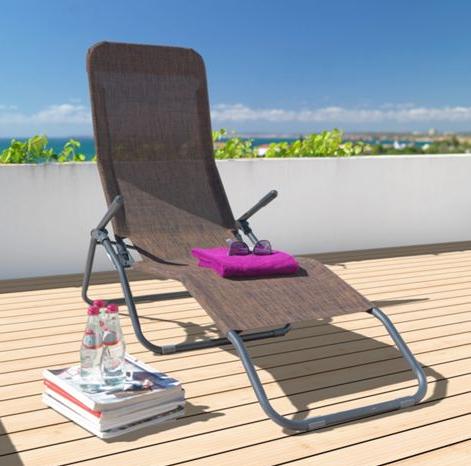 Gartenliege / Relaxliege für 14,34€ inkl. Versand bei XXXL online