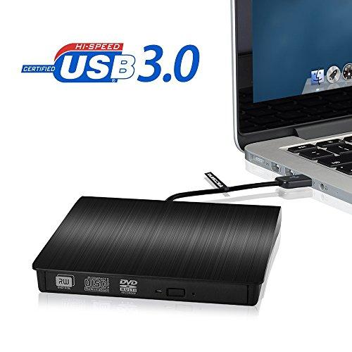 VicTsing Extern USB 3.0 DVD CD RW Brenner (Prime, sonst +Versand oder Buchtrick)