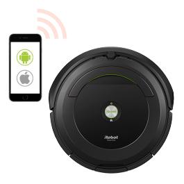 iRobot Roomba 696 (in schwarz) / 691 (in weiss) Saugroboter + Gratis 5 Jahresgarantie + Gratis Service-Kit (Ersatzfilter + Bürsten)