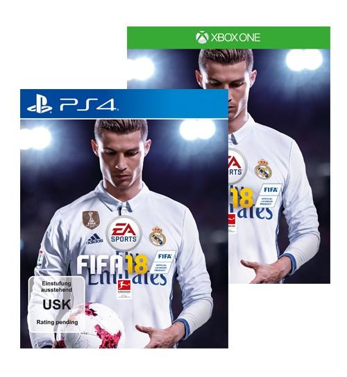 Vorbestellung Fifa 18 für Xbox One und PS4 [Drogerie Müller]