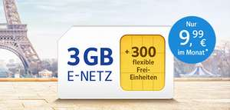 3 GB/300 Freiminuten All-Net Handyvertrag