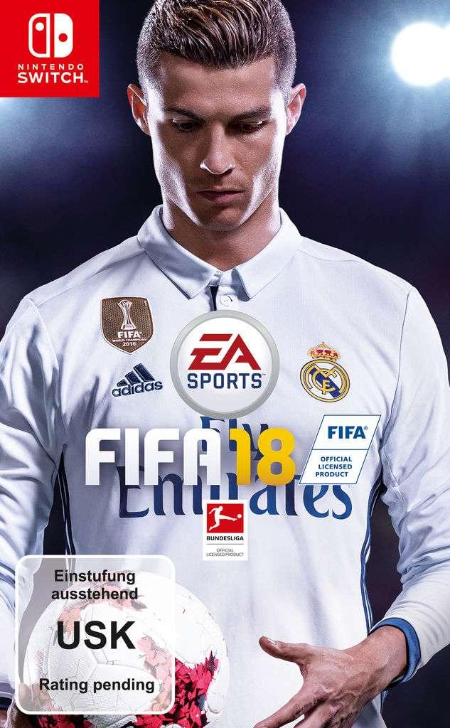 Fifa 18 Standard Edition (Switch) für 51,99€ inkl. VSK (4u2play)