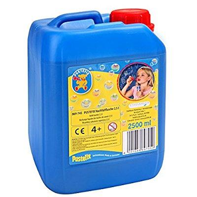 Pustefix Seifenblasen-Flüssigkeit 2.5l (Prime oder 29 € MBW) [Amazon]