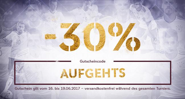 30% Rabatt m DFB Fanshop