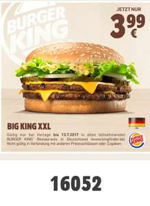 [Burger King] Big King XXL (PLU: 16052)