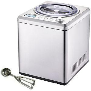 Melissa Eismaschine Kompressor aus Edelstahl