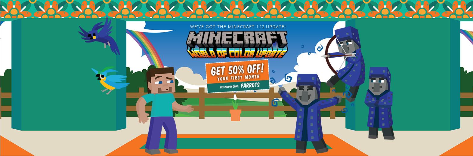 [Nodecraft] -50% auf Minecraft Gameserver (im ersten MONAT)