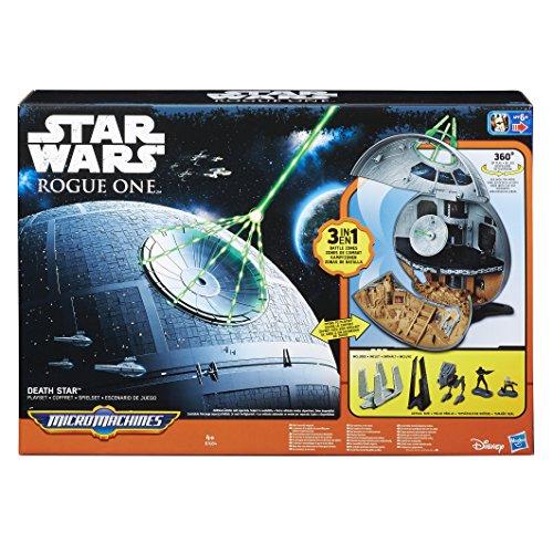 Star Wars Rogue One Micro Machines Todesstern Spielset (Hasbro B7084EU0) für 31,18€ inkl. VSK (Amazon.es)