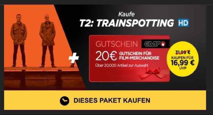 Trainspotting 2 (HD) + 20€ EMP Gutschein