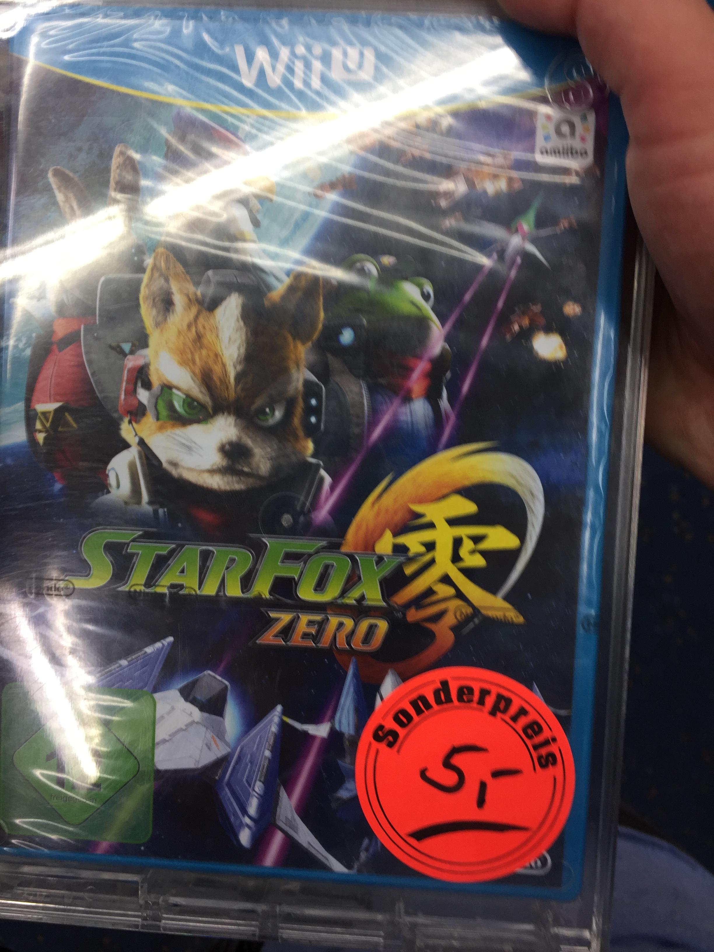 Starfox Zero Wii U Saturn Münster (lokal) Bestpreis