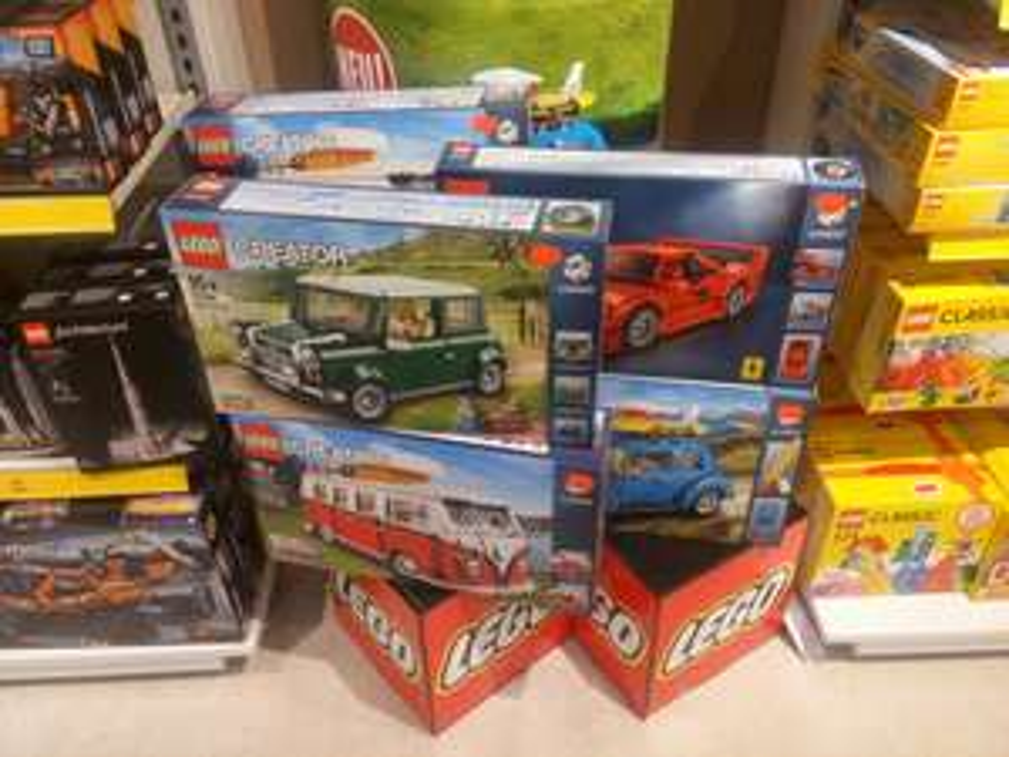 [lokal 41539] Lego Creator Ferrari F40 10248 günstig - auch Mini Cooper 10242, VW Bulli 10220 Käfer 10253 Preise ok