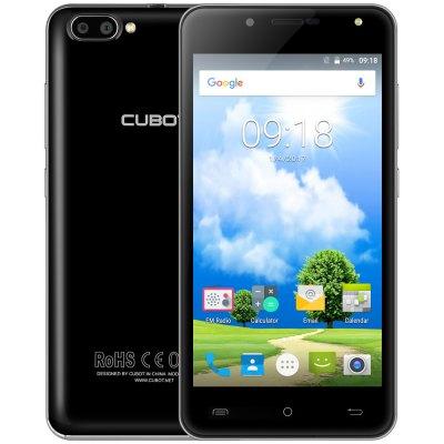 [Gearbest] CUBOT RAINBOW 2 3G Smartphone, 5 Zoll, 1,3GHz MTK6580, 16GB ROM, 1GB RAM, Android 7.0, Dual-Kamera 13MP + 2MP, schwarz