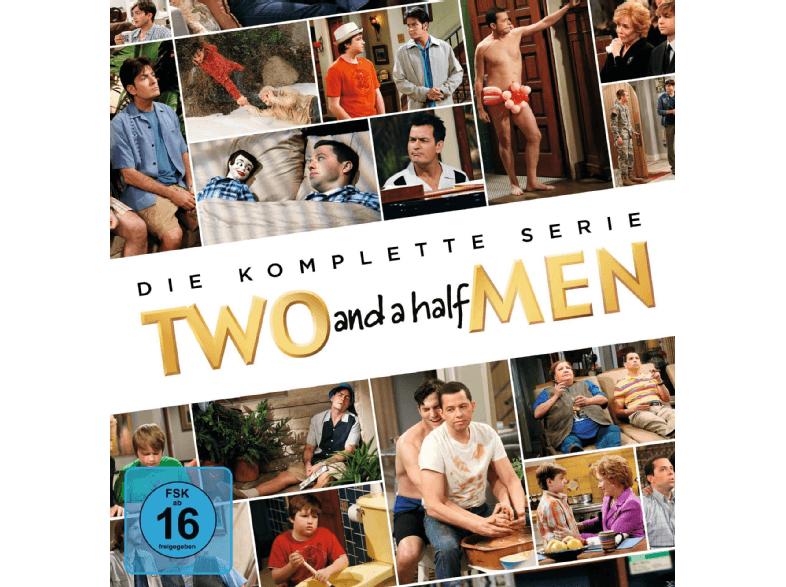 Two And A Half Men - Komplettbox (DVD) für 44,99€ versandkostenfrei (Saturn + Amazon)