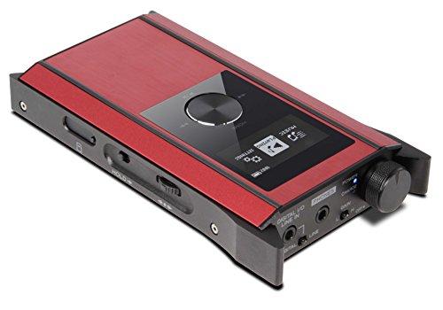 Teac HA-P90SD Kopfhörerverstärker/Portabler Player/DA-Wandler, rot für 267,39€ [Amazon.es]