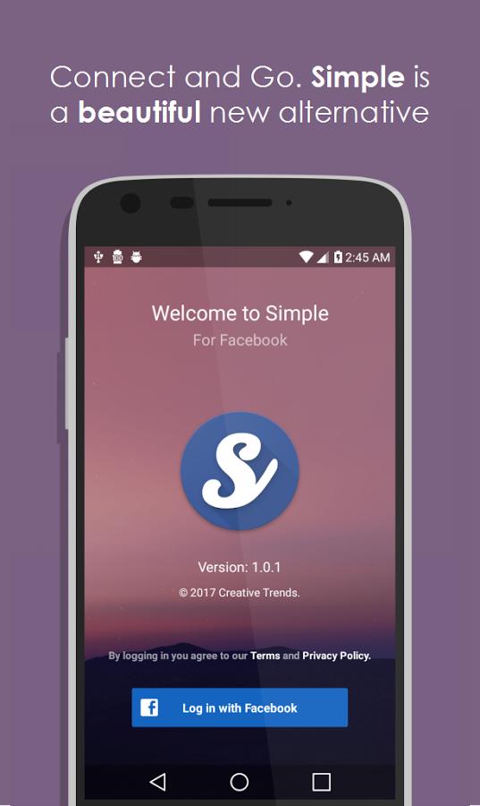[Android] Simple für Facebook Pro kostenlos statt 1,59€ im Playstore