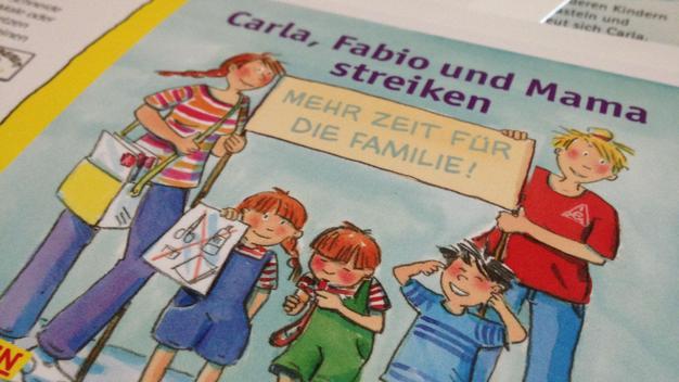 """""""Carla, Fabio und Mama streiken"""" - Pixi-Buch"""