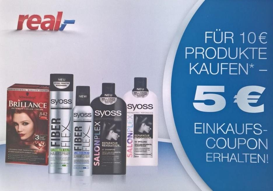 Beautycard 2.0 / 5 € Einkaufsgutschein beim Kauf von Syoss und Brillance Produkten für 10 €