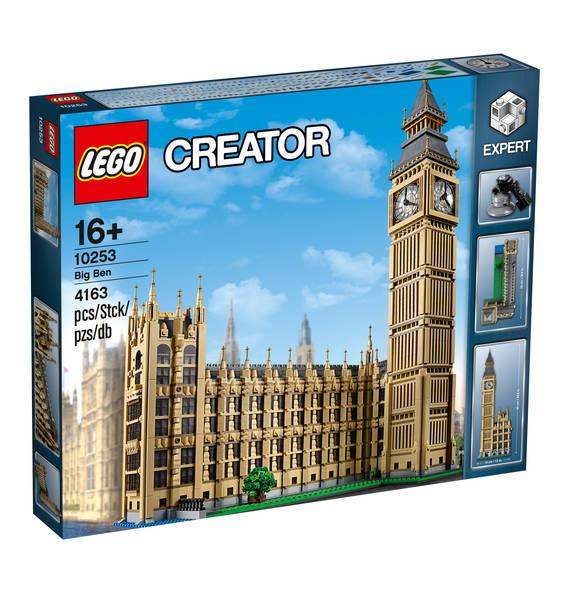 13% Rabatt auf ausgewählte Lego Creator und Technik-Sets, z. B. Big Ben 10253 für 182,69 Euro [Galeria Kaufhof]