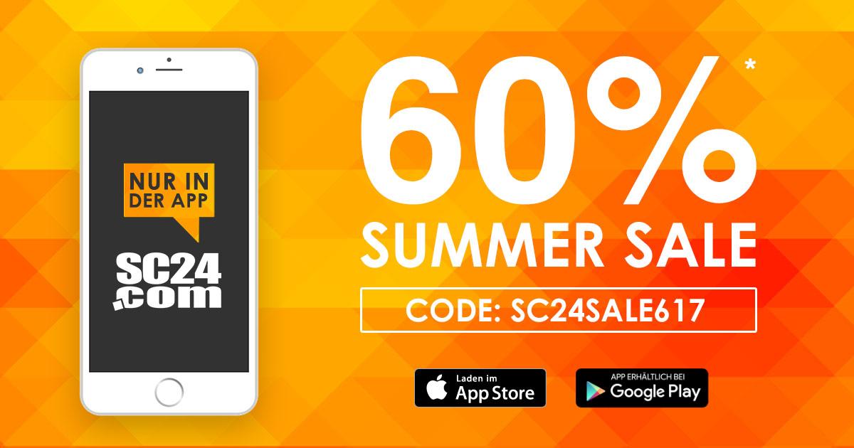 SC24 Summersale (nur über die APP!)