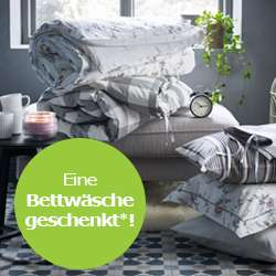 [IKEA Köln-Godorf] 1 Bettwäsche kostenlos für die ersten 1000 Besucher in Pyjama am 24.06.