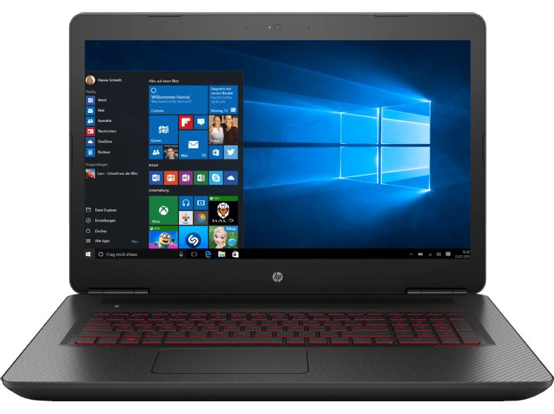 Gaming Laptop HP Omen 17-w183ng (Z5G25EA#ABD) mit GTX 1070 bei Media-Markt AT