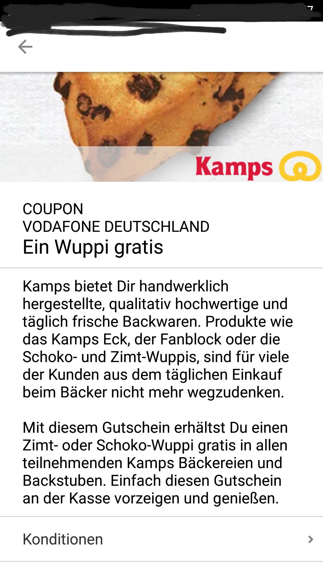 Wuppis und Kaffee von Kamps gratis! [Flatrate?]