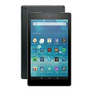 Fire HD 8-Tablet, 20,3 cm (8 Zoll) HD Display, WLAN, 16 GB (Schwarz), amazon