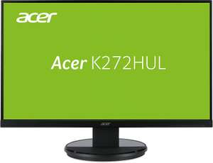 Acer K2 K272HULE Monitor (27'' WQHD TN, 1ms, 350cd/​m², DVI + HDMI + DP, VESA) für 229€ [Amazon]