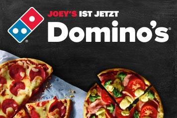 Dominos 50% Rabatt auf Pizza Klassiker heute 19.6