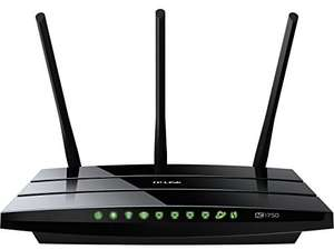 [Amazon] TP-Link Archer C7 AC1750 Gigabit Dualband WLAN Router(für Anschluss an Kabel-/DSL-/GlasfaserModem, 450 Mbit/s(2,4GHz)+1300 Mbit/s(5GHz), 2 USB 2.0 Ports, IPv6, Print/Media/FTP Server)