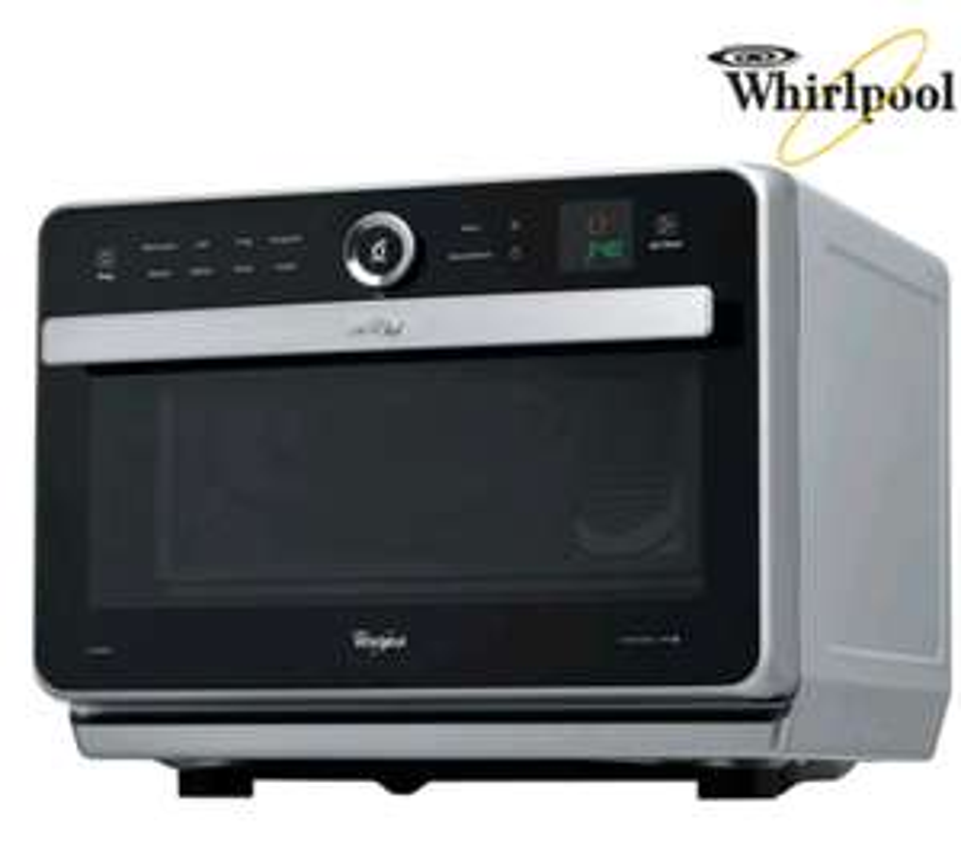 Whirlpool Multifunktions-Mikrowellen-Backofen für 208,90€ (statt 379€ laut iBood) (Mikrowelle, Grill, Crisp-System, Heißluft und Dampfgaren) [iBood]