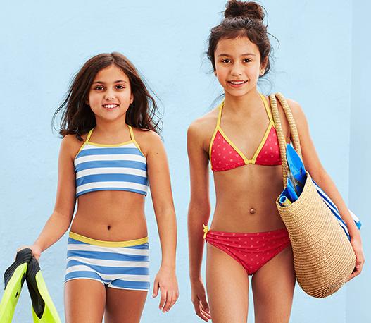 Zwei Bikins für 11,69€, Regenjacke für 12,60€, Kinder-Jeans für 10,80€ im Angebot bei [Tchibo] - mit Filiallieferung