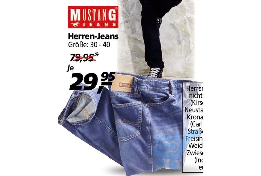 Mustang Jeans (Größe 30-40) @Real