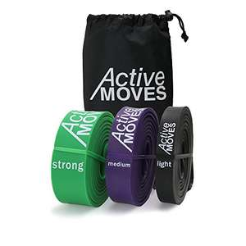ActiveMoves Fitnessbänder im Blitzangebot (ab 9,34 statt 12,99, Vgl. 15,99)