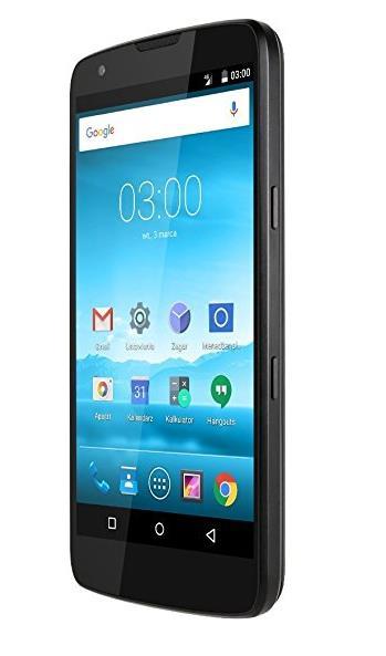 Krüger&Matz KM0434 Live 3 Plus Smartphone (13,2 cm (5,2 Zoll), 16 Megapixel, 6000mAh) schwarz