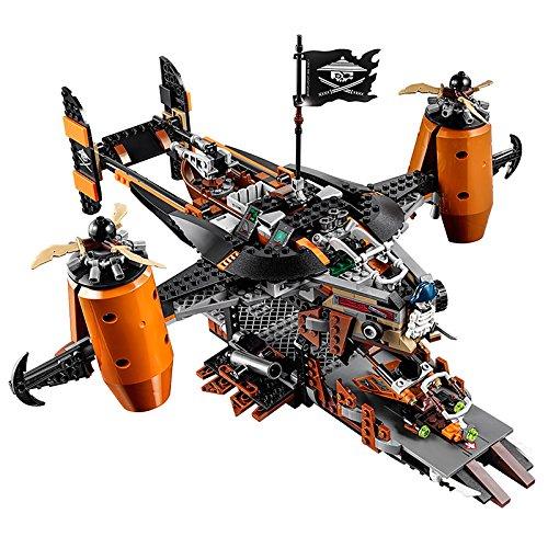 Amazon PRIME - LEGO NINJAGO 70605 - Luftschiff des Unglücks