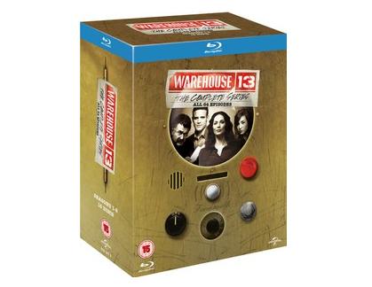 Warehouse 13: Die komplette Serie (Blu-ray) für 23,17€ bei Zavvi