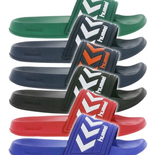 HUMMEL Larsen Slipper Badelatschen in 6 Farben jetzt für 4,99€ statt 13,99€ @Outlet46 *PREIS GESENKT*