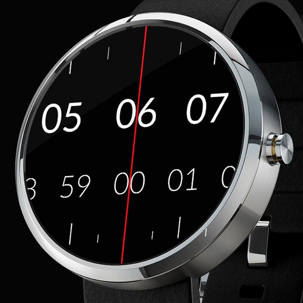 [Android Wear] Time Tuner Watch Face  - kostenlos statt 1,19