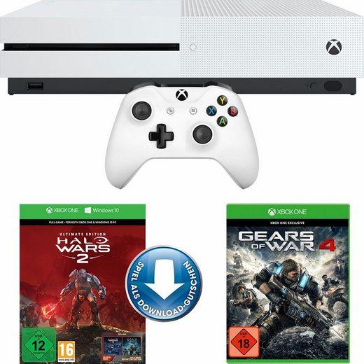 [Neckermann] Xbox One S 1TB + Halo Wars 2 Ultimate Edition (DLC) + Gears of War 4