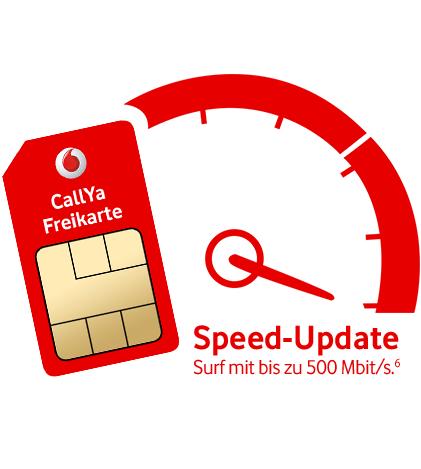 Callya Freikarte von Vodafone / Kostenlose Prepaid Sim Karte