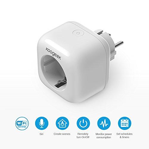 Koogeek Smart Plug HomeKit-Steckdose zum Einführungspreis
