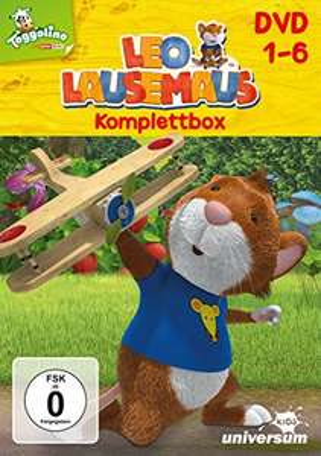 Leo Lausemaus Komplettbox mit 6 DVDs für 24,97€ mit [Amazon Prime] + weitere Kindertitel in der Übersicht