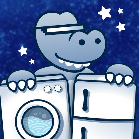 Weiße Ware im rotcom-onlineshop auf ebay, z.B. mit der Hoover DXA58 AH S Waschmaschine mit 8kg Fassungsvermögen und EEK A+++  für 299,90€