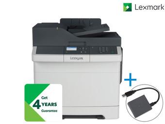 Lexmark CX317dn Laser Multifunktionsdrucker + WLAN-Druckserver für 158,90 € statt 604,71 € - nur heute - [iBood]